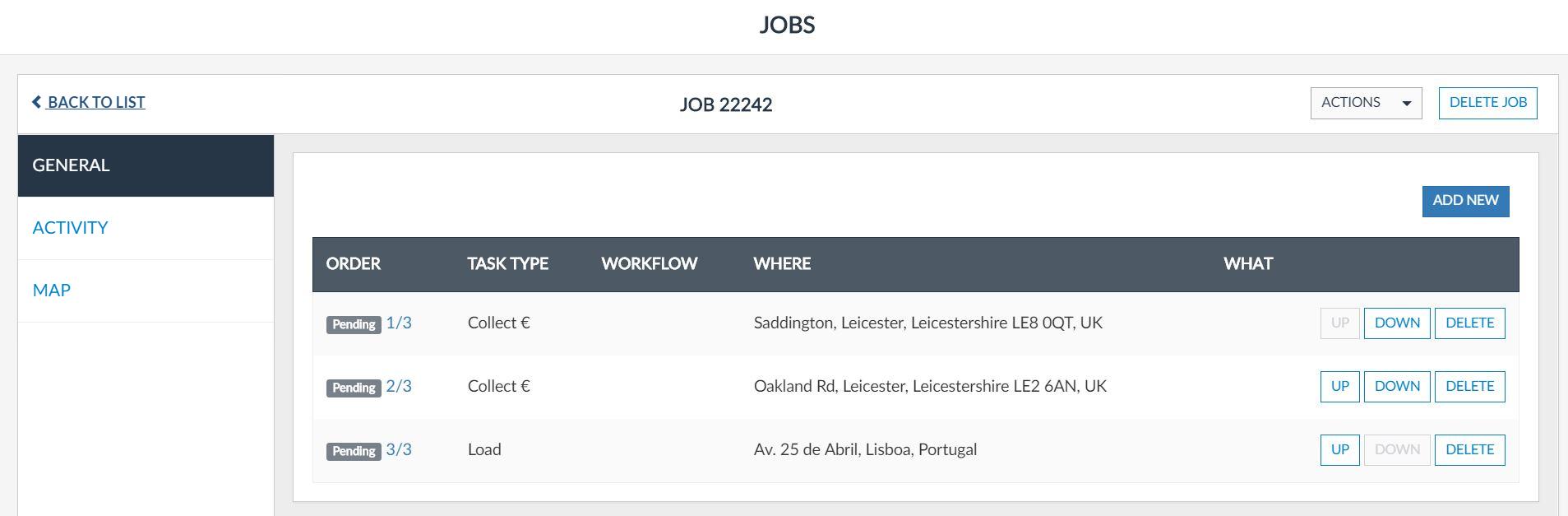 Jobs  How To Delete A Job?